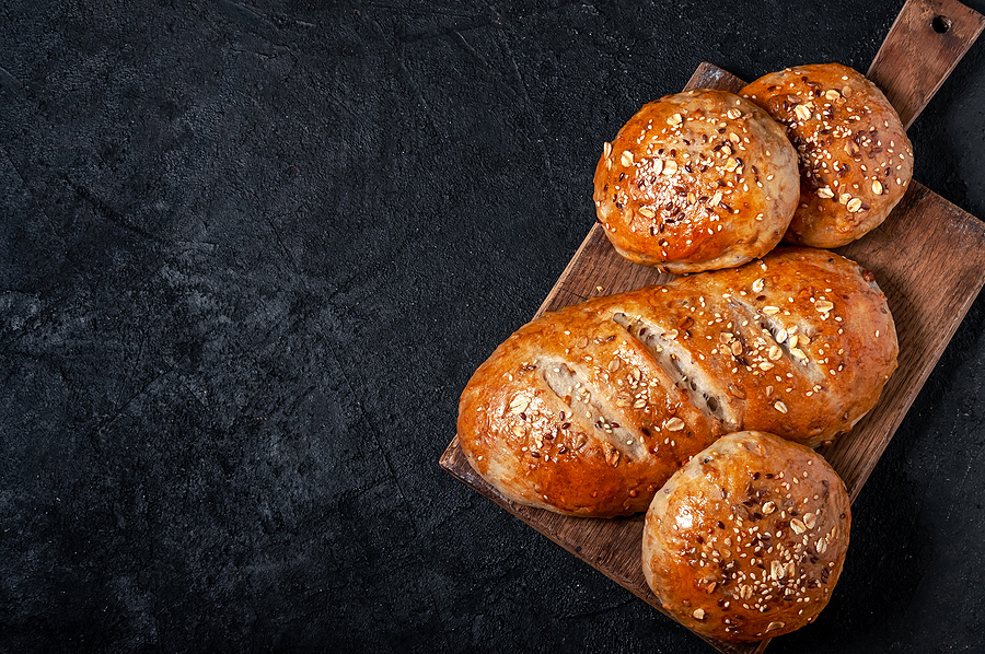 Homemade Wholemeal Multigrain Bread and Buns