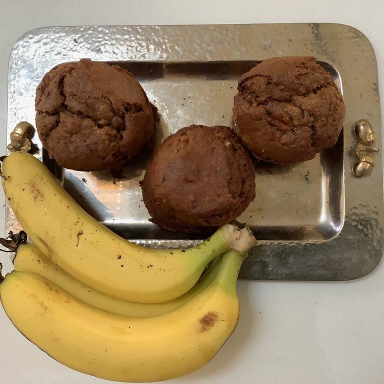 מתכונים ללא גלוטן עוגת בננה שוקולד
